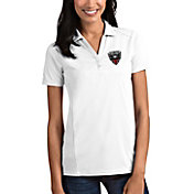 Antigua Women's D.C. United Tribute White Polo