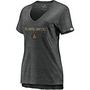 MLS Women's Atlanta United Pocket Black V-Neck T-Shirt