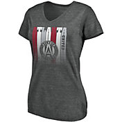 MLS Women's Atlanta United Fun Grey Tri-Blend T-Shirt