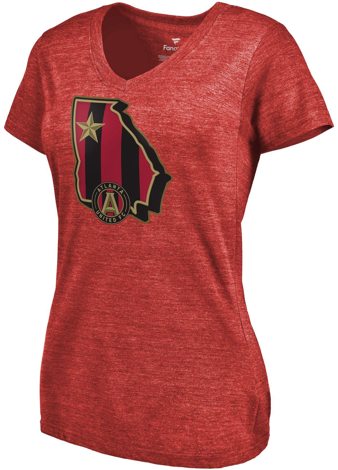 MLS Women's Atlanta United State Star Red T-Shirt