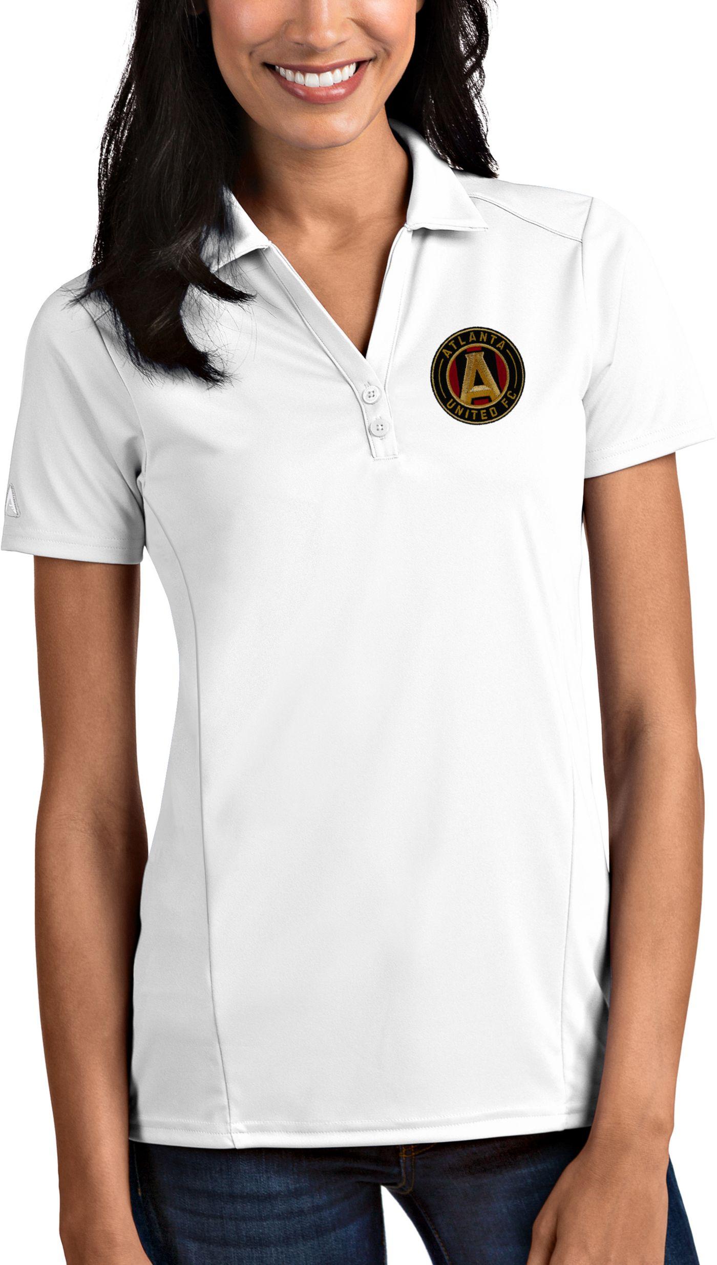 Antigua Women's Atlanta United Tribute White Polo