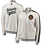 MLS Women's Atlanta United Cross White Full-Zip Jacket