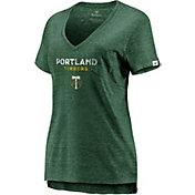 MLS Women's Portland Timbers The Stuff Green T-Shirt