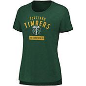 MLS Women's Portland Timbers Iconic Green T-Shirt