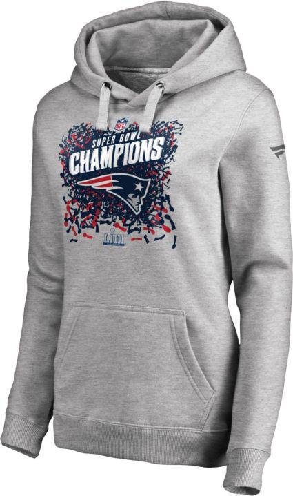 NFL Women s Super Bowl LIII Champions New England Patriots Locker Room  Hoodie. noImageFound a6654cd6e