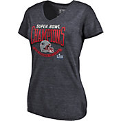NFL Women's Super Bowl LIII Champions New England Patriots Line of Scrimmage T-Shirt