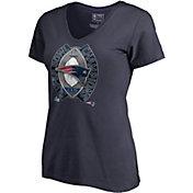 NFL Women's Super Bowl LIII Champions New England Patriots Ring T-Shirt