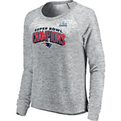 NFL Women's Super Bowl LIII Champions New England Patriots Fleece Crew