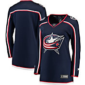 NHL Women's Columbus Blue Jackets Breakaway Home Replica Jersey