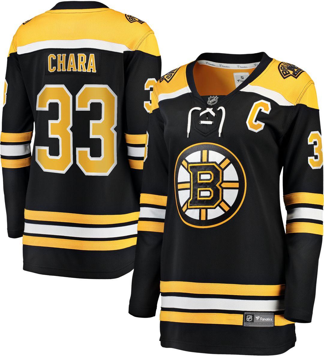 info for 86717 728ed NHL Women's Boston Bruins Zdeno Chara #33 Breakaway Home Replica Jersey