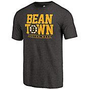NHL Women's Boston Bruins Bean Town Black T-Shirt