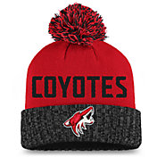 NHL Women's Arizona Coyotes Maroon Pom Knit Beanie
