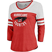 NHL Women's Carolina Hurricanes Century Red Long Sleeve Shirt