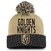 NHL Women's Las Vegas Golden Knights Black Pom Knit Beanie