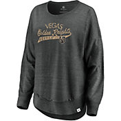 NHL Women's Vegas Golden Knights Amaze Grey Crew Sweatshirt