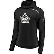 NHL Women's Los Angeles Kings Authentic Pro Rinkside Black Pullover Hoodie