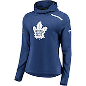 NHL Women's Toronto Maple Leafs Authentic Pro Rinkside Blue Pullover Hoodie