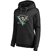 NHL Women's Pittsburgh Penguins Lovely Black Pullover Hoodie