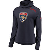 NHL Women's Florida Panthers Authentic Pro Rinkside Navy Pullover Hoodie