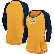 NHL Women's Nashville Predators Shine  Three-Quarter Sleeve Shirt