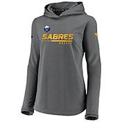 NHL Women's Buffalo Sabres Travel Gray Pullover Sweatshirt