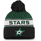 NHL Women's Dallas Stars Authentic Pro Green Pom Knit Beanie