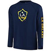 MLS Youth Los Angeles Galaxy Vital Navy Long Sleeve Shirt