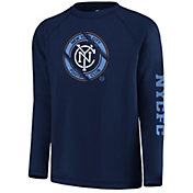 MLS Youth New York City FC Vital Navy Long Sleeve Shirt