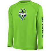 MLS Youth Seattle Sounders Vital Green Long Sleeve Shirt