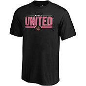 MLS Men's Atlanta United On To Win Black T-Shirt