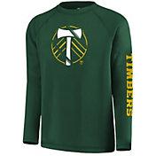 MLS Youth Portland Timbers Vital Green Long Sleeve Shirt