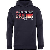 NFL Youth AFC Conference Champions New England Patriots Touchback Hoodie
