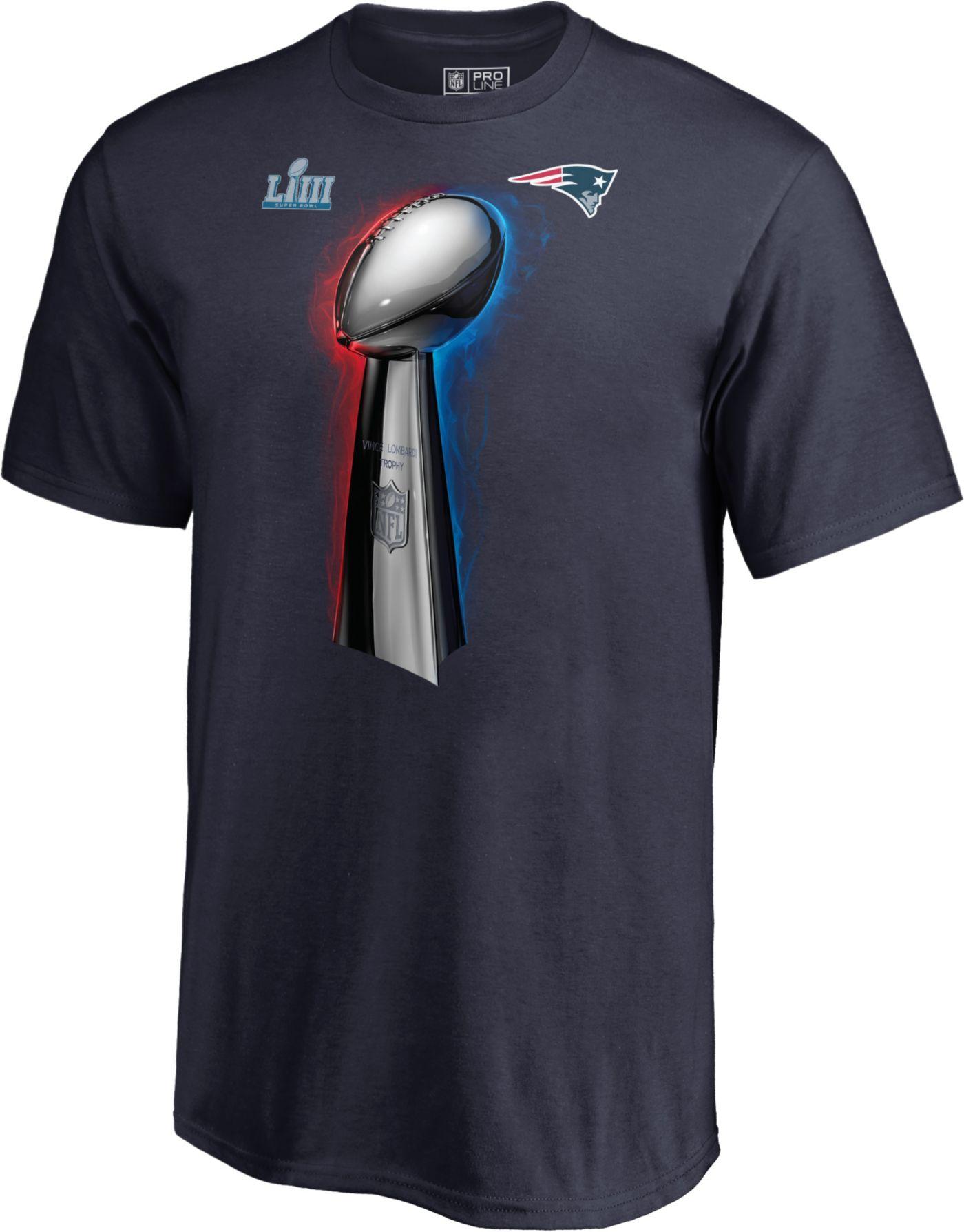 NFL Youth Super Bowl LIII Champions New England Patriots Parade Celebration T-Shirt