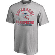 NFL Youth Super Bowl LIII Champions New England Patriots Double Coverage T-Shirt