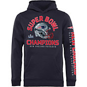 NFL Youth Super Bowl LIII Champions New England Patriots Two Minute Drill Hoodie
