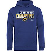 NFL Youth NFC Conference Champions Los Angeles Rams Touchback Hoodie