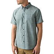 prAna Men's Agua Short Sleeve Shirt