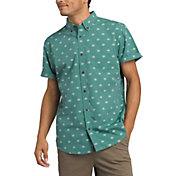 prAna Men's Broderick Short Sleeve Button Up Shirt