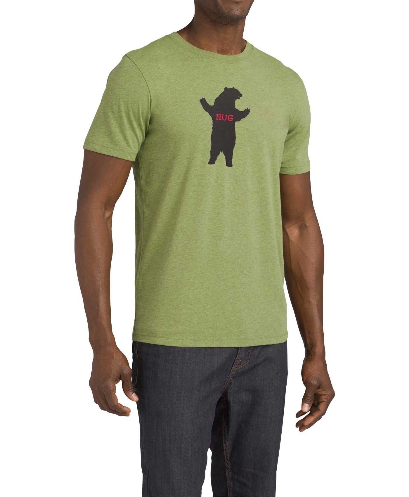 prAna Men's Bear Squeeze Journeyman T-Shirt