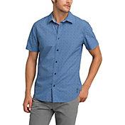 prAna Men's Ulu Short Sleeve Button Up Shirt