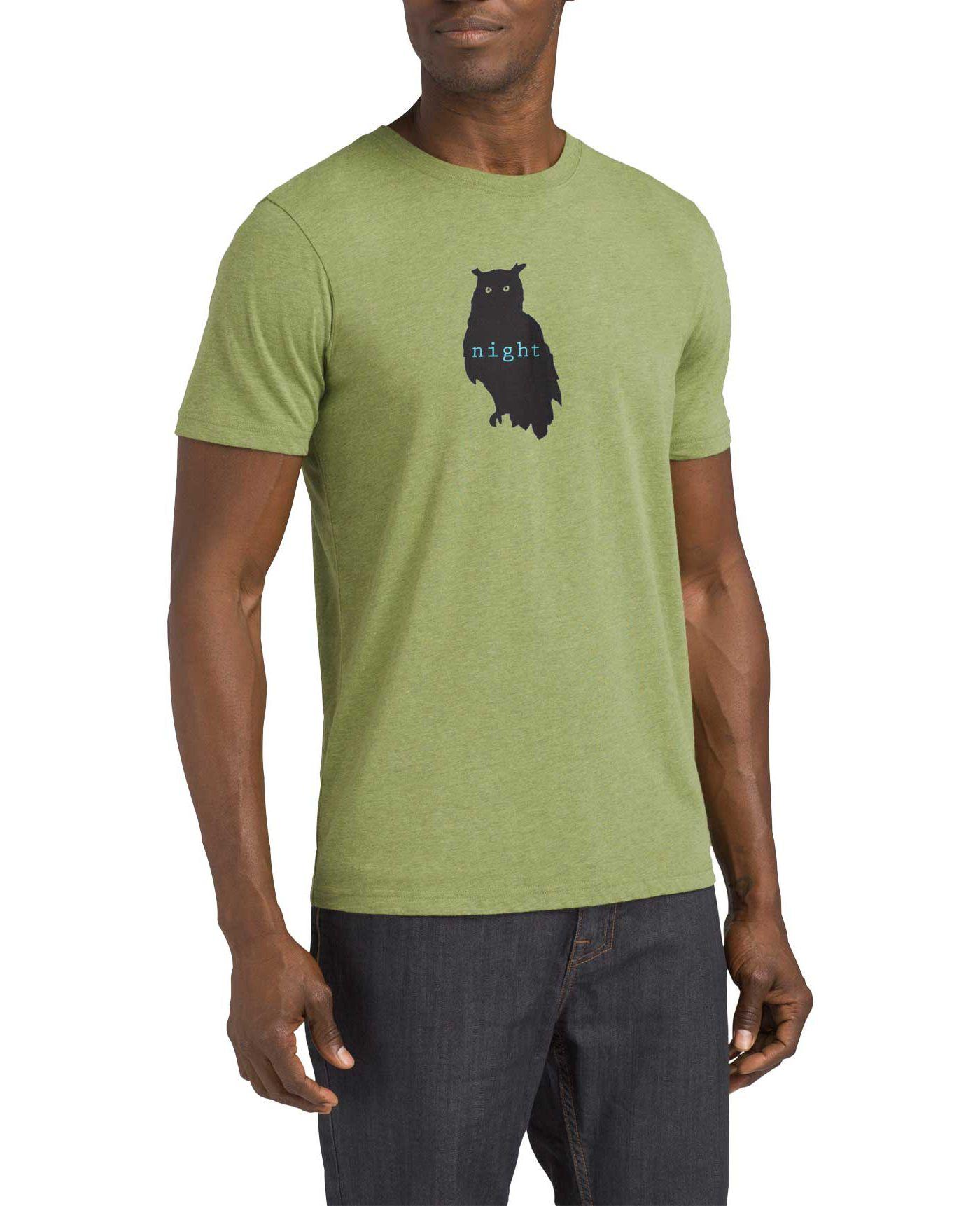 prAna Men's Night Owl Journeyman T-Shirt
