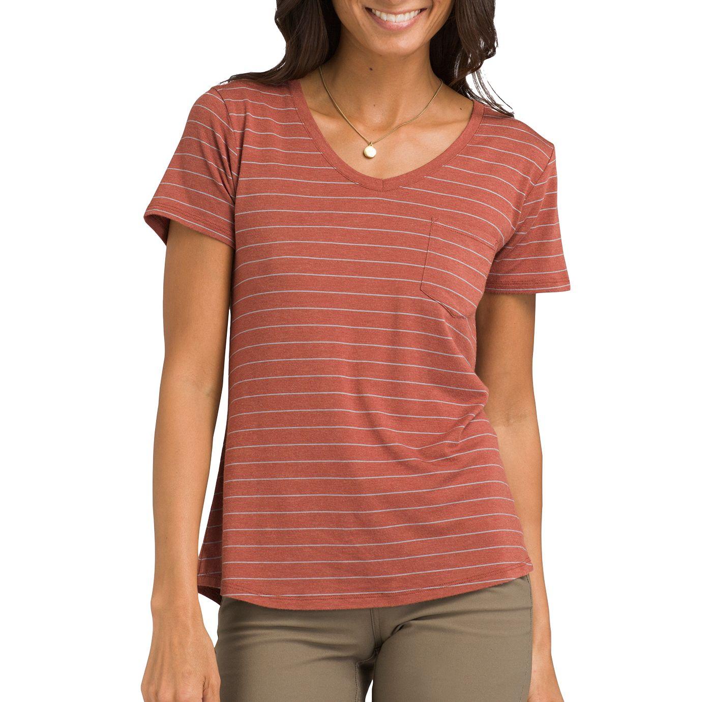 prAna Women's Foundation V-Neck T-Shirt
