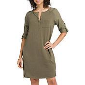 prAna Women's Hensley Henley Dress