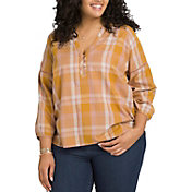 prAna Women's Plus Size Elena Long Sleeve Shirt