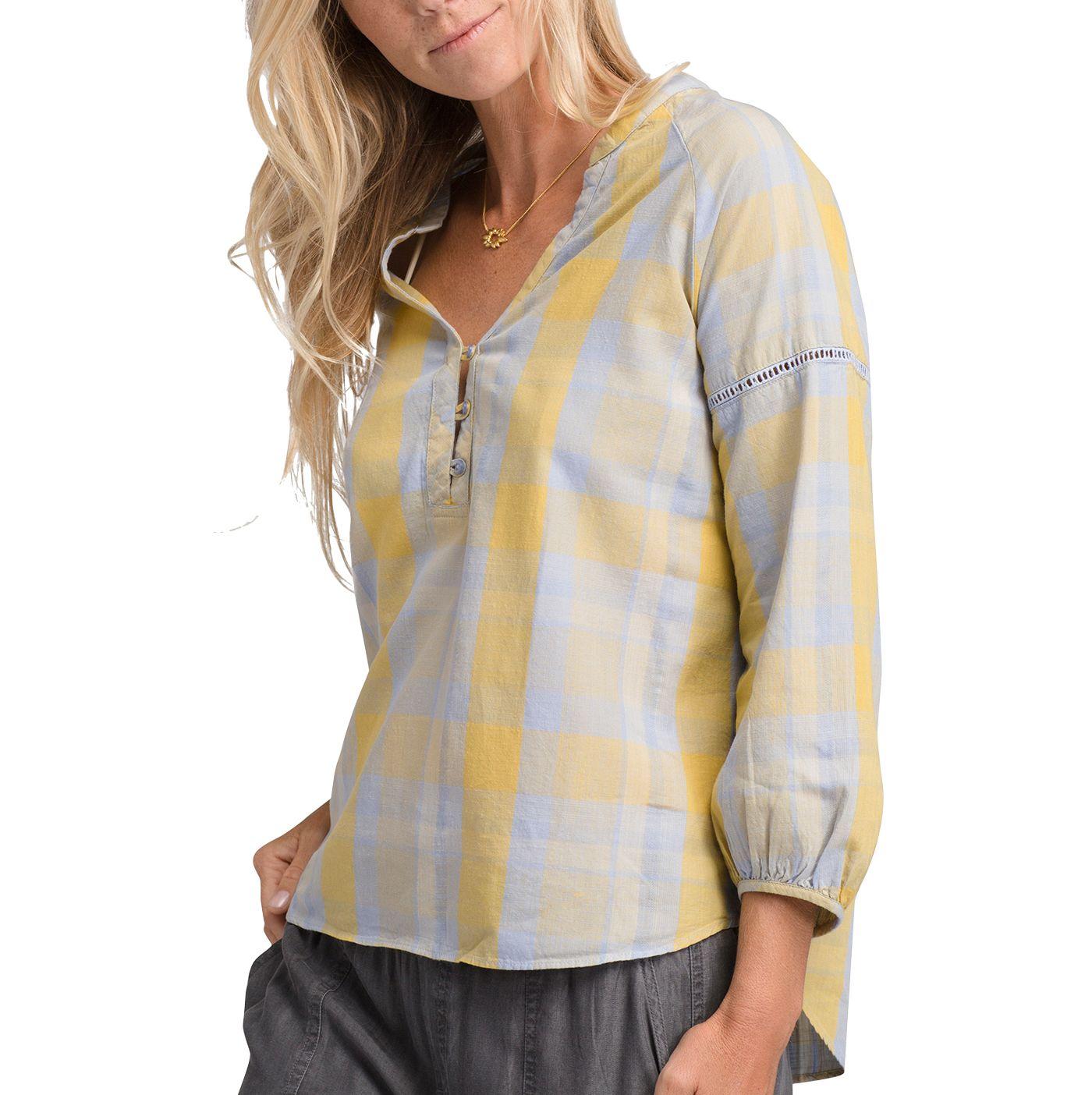 prAna Women's Elena Long Sleeve Shirt