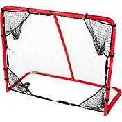 PowerBolt 54in Metal Hockey Goal with Target Pockets