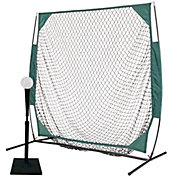 PowerBolt 5' Net w/ Pro Tee and 12 Pack Plastic Training Ball Set