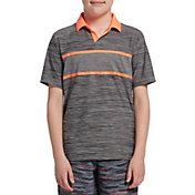Prince Boys' Stripe Johnny Collar Tennis Polo