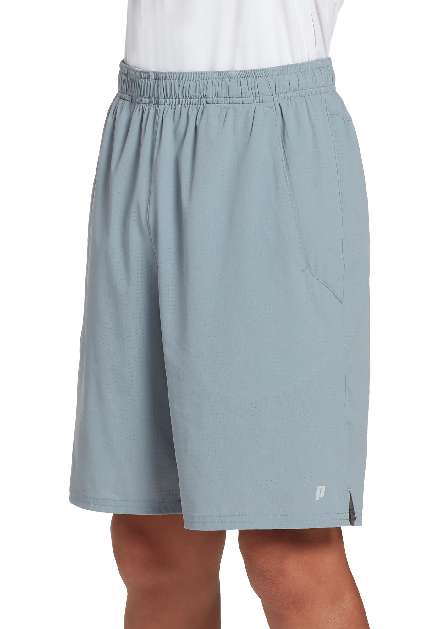 Prince Boys' Woven Perforated Match Tennis Shorts