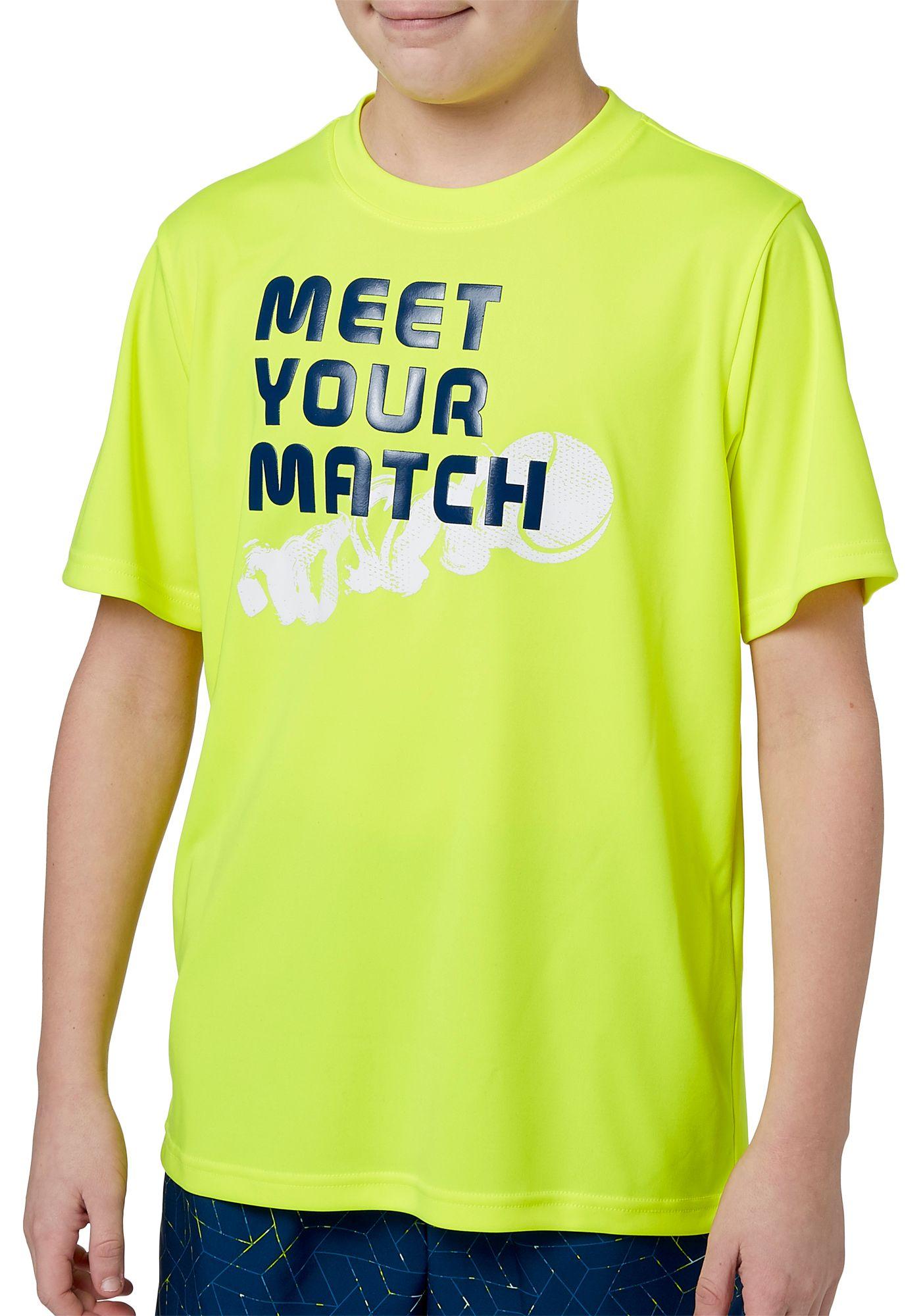 Prince Boys' Graphic Tennis T-Shirt